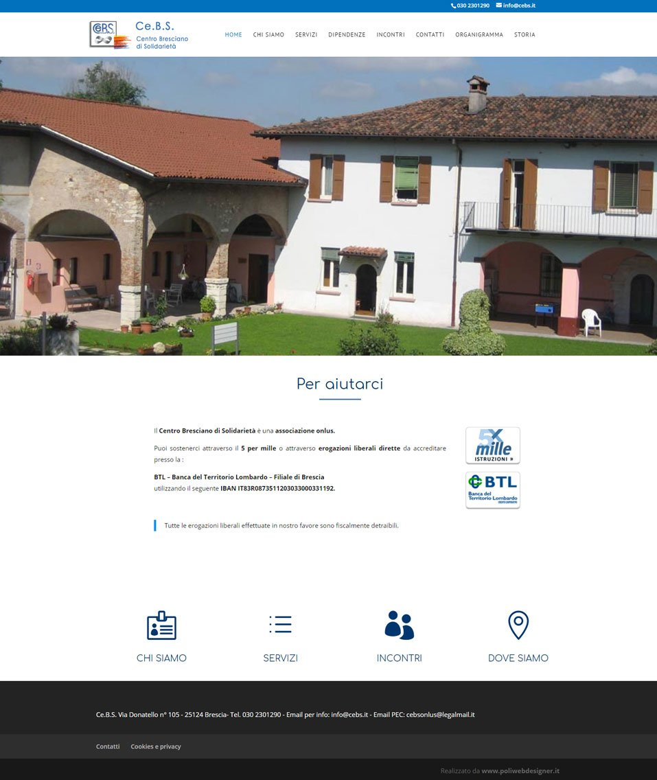 Ce.B.S. sito web by www.poliweb.it